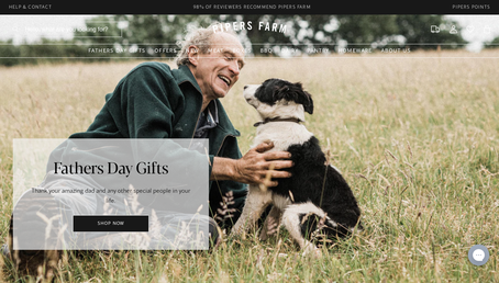 Pipers Farm website