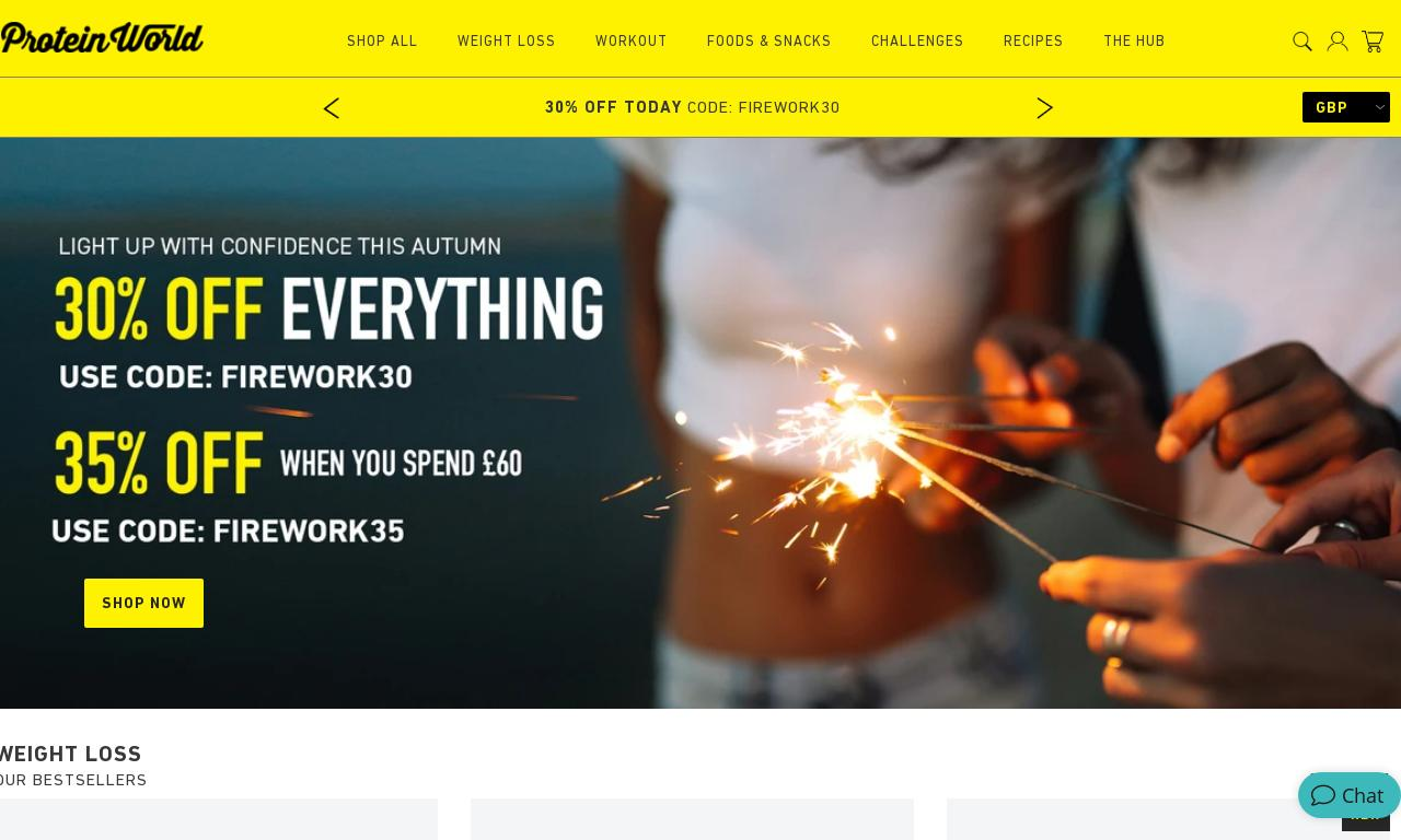 Protein World website