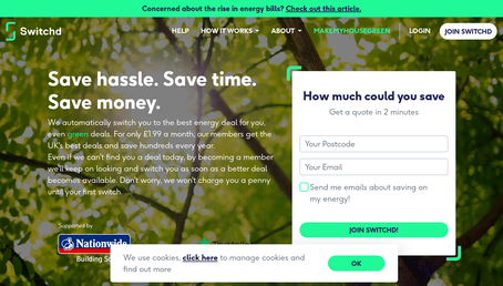 Switchd (Utility Switching Service) website