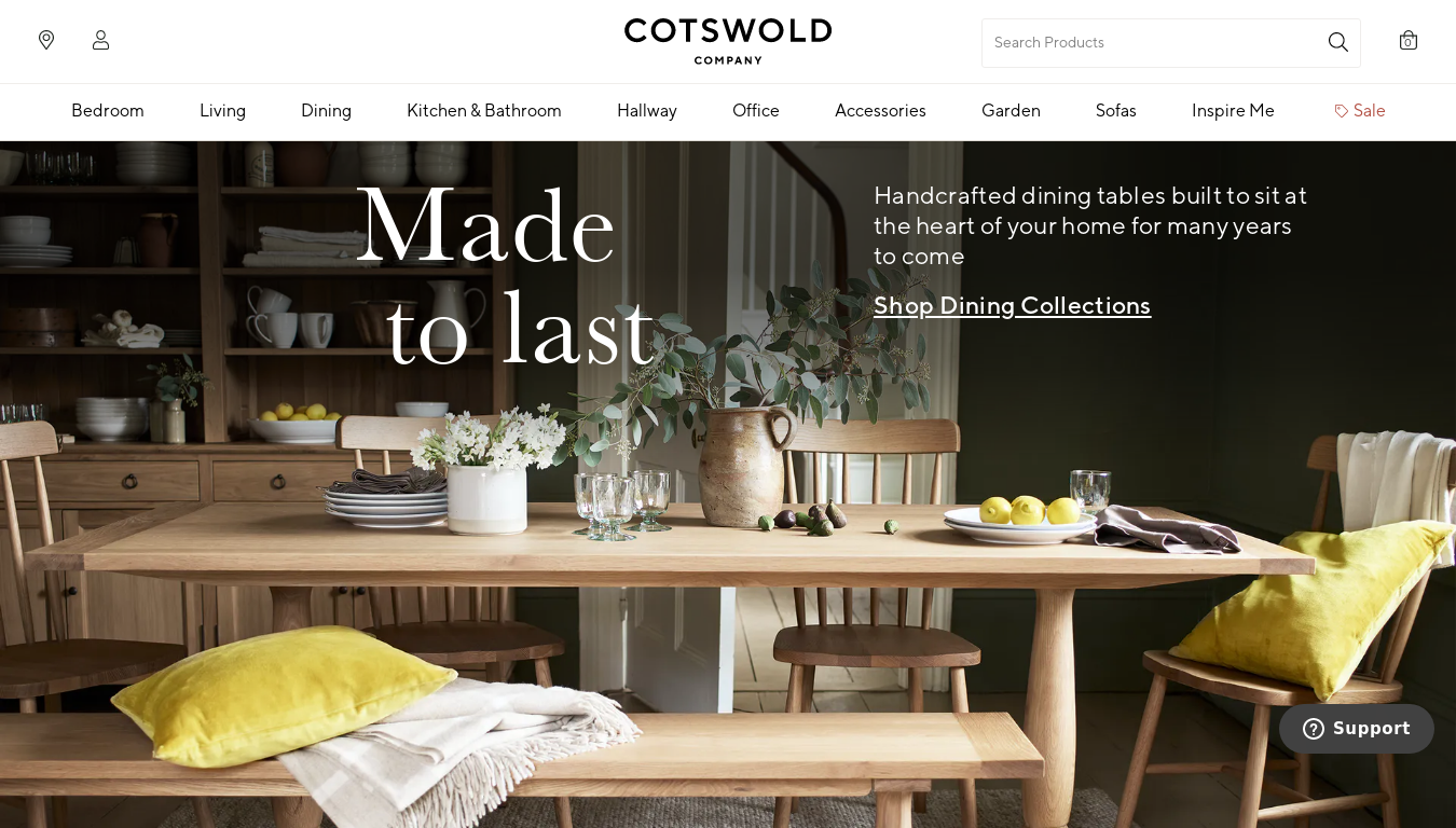 The Cotswold Company website
