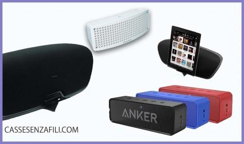 Migliori Casse Bluetooth sotto 100 Euro