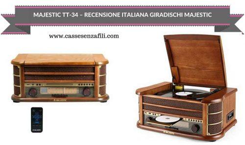MAJESTIC TT-34-RECENSIONE-ITALIANA-GIRADISCHI-MAJESTIC