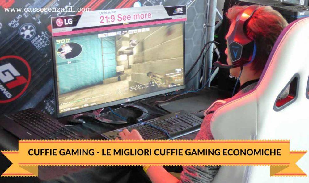 Migliori Cuffie Gaming Economiche