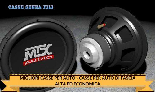 MIGLIORI CASSE PER AUTO – CASSE PER AUTO DI FASCIA ALTA ED ECONOMICA