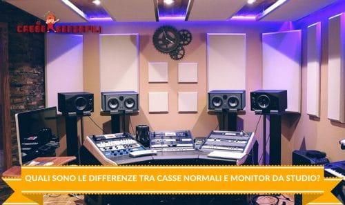 Quali sono le Differenze tra Casse Normali e Monitor da Studio_