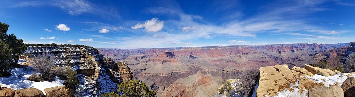 Grand Canyon Scatto in grandangolo