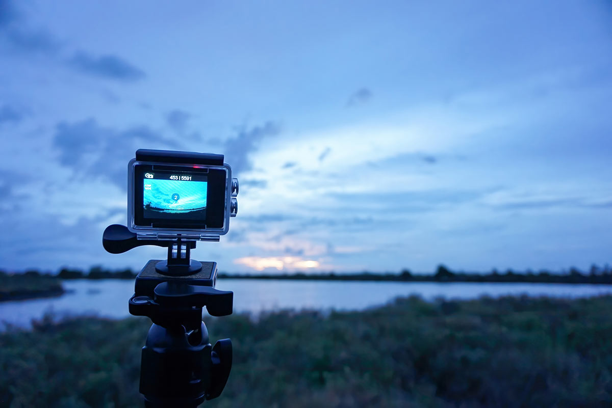 video camera riprese scarsa luce