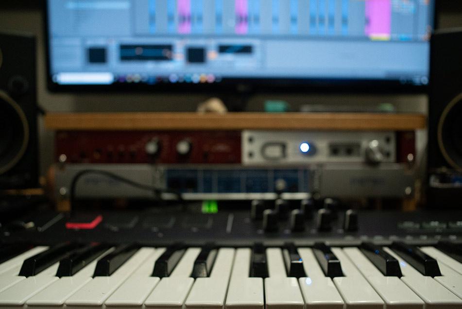 Tastiera professionale per fare musica