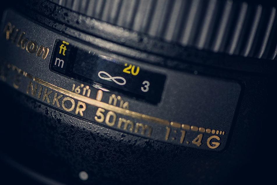 nikkor 50 mm 1 Ottica 4 G  frame rate intero