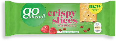 raspberry crispy slices