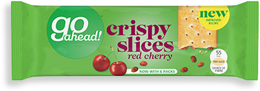 red cherry crispy slices