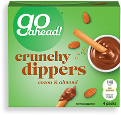 cocoa & almond crunchy dippers
