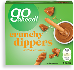 salted caramel crunchy dippers