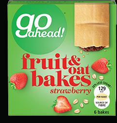strawberry fruit & oat bakes