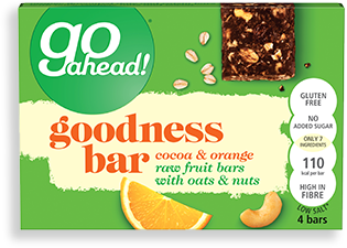cocoa & orange goodness bars
