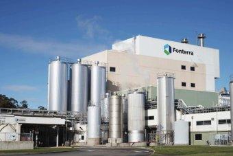 Fonterra hits milk production peak, but it's back on last year