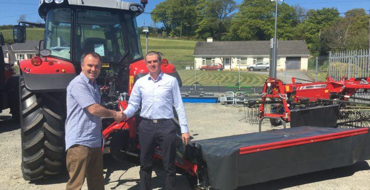 Farm Free competition winner puts Massey Ferguson mower to work