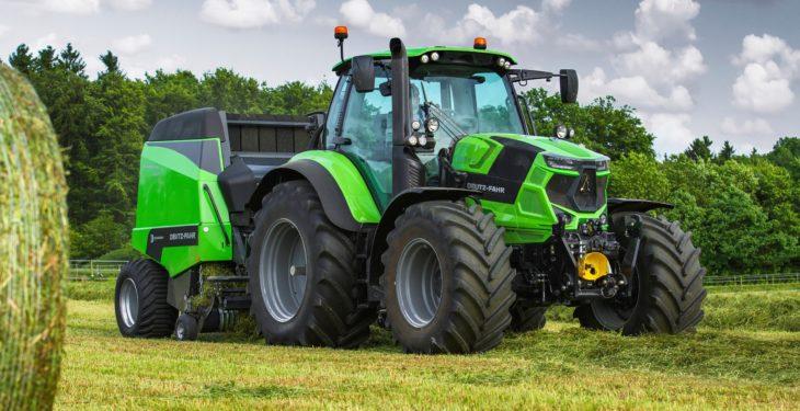 Deutz-Fahr adds new beefy, 4-cylinder tractors to its line-up