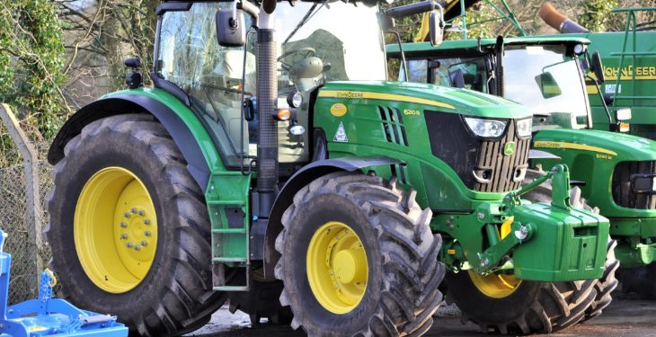 Tractor sales down in big German market; other sectors positive