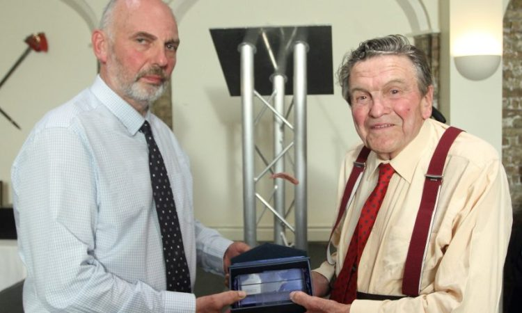 Lifetime achievement award honours farmer who started with just five acres