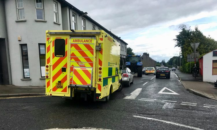 2 rushed to hospital following underage tractor accident