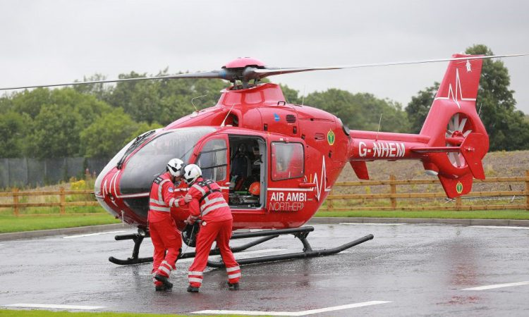 Father and son hospitalised in slurry accident