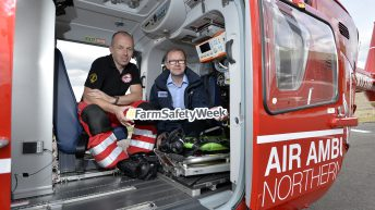 NI's Air Ambulance soars one year on…but how many rescues were farming related?