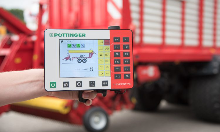 All aboard: Check out this new in-cab ISOBUS controller