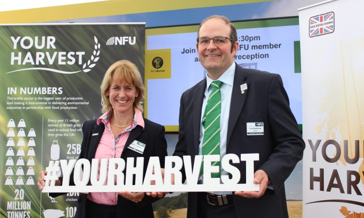 NFU looks to showcase value of arable farmers to MPs