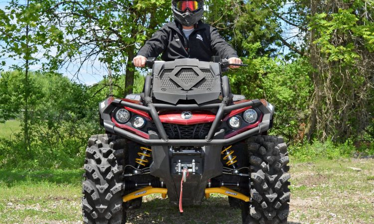 New survey shows that only 30% of farmers wear a helmet while riding an ATV