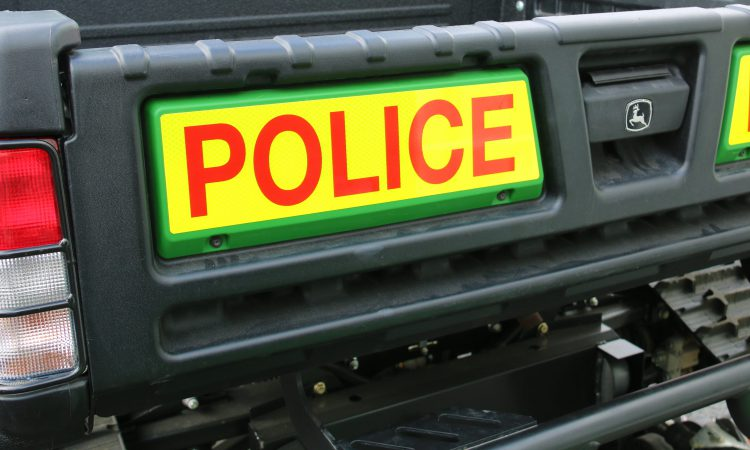 2 stolen tractors found 26 miles away with false plates
