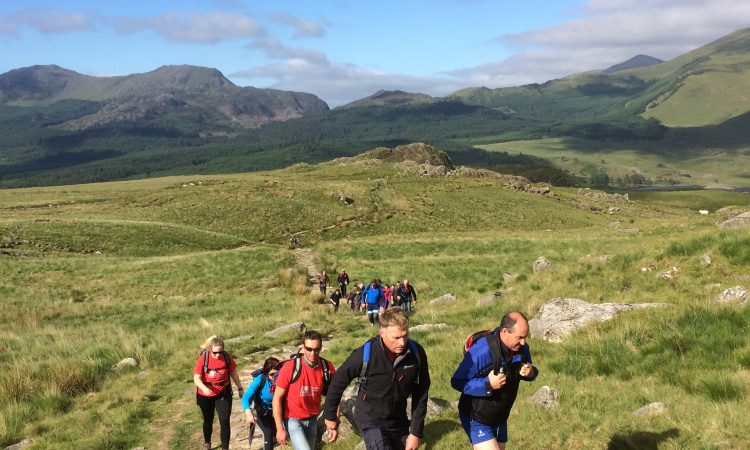 30 farmers scale Snowdon for worthy charities