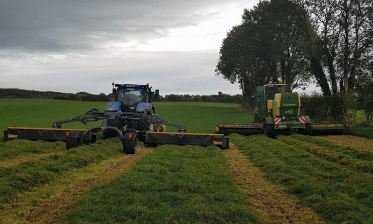 34ft-wide Tanco silage mower spotted during field-tests