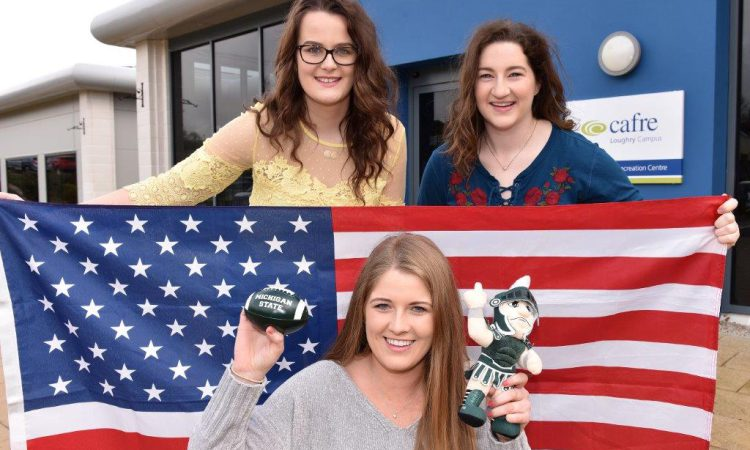 Loughry CAFRE students set off stateside