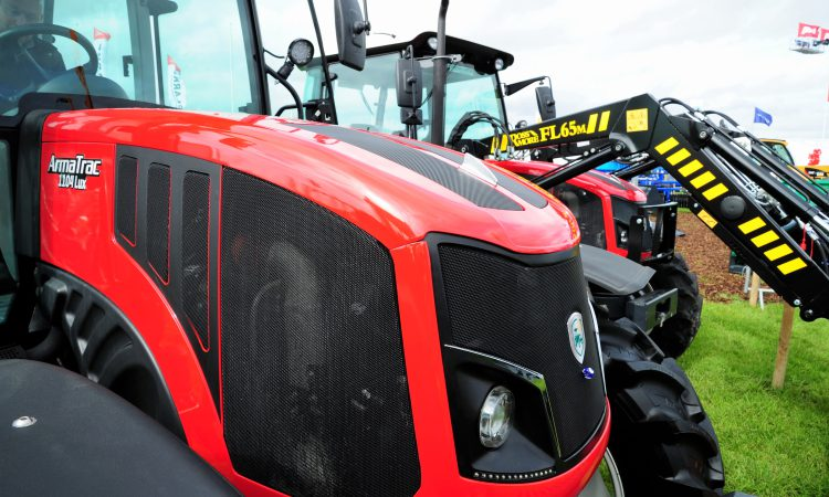 ArmaTrac gets a 'spring' in its step at the Irish 'Ploughing'
