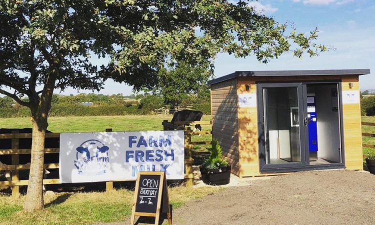 Fancy some farm-fresh milk…from a vending machine?