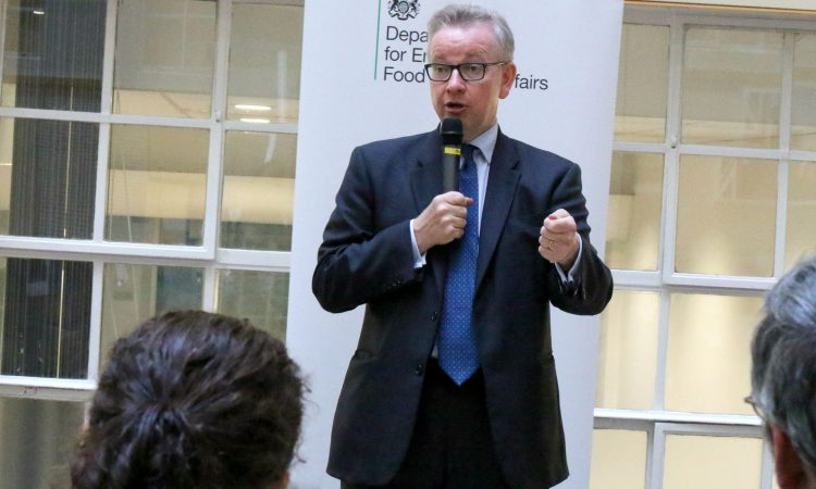 Gove to stay on as Defra Secretary as PM comes under pressure