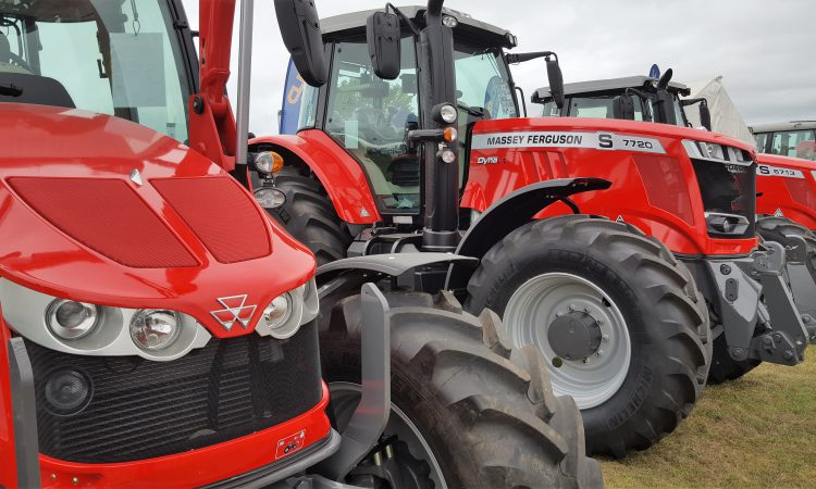 Average power of new tractors sold in the UK climbs to 167hp