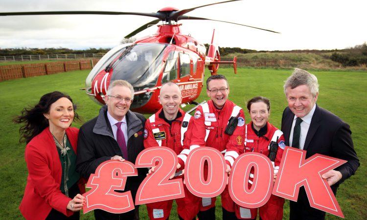 Farmers raise £200,000 for Air Ambulance charity