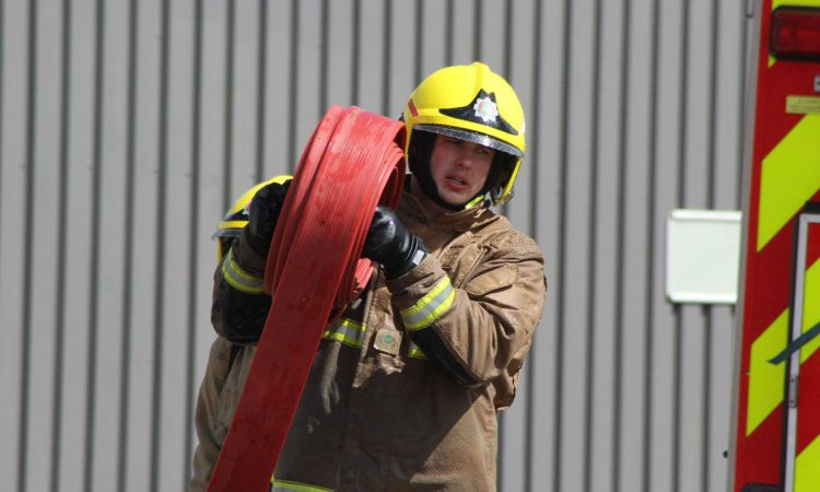 Firefighters called in to help 400-cow UK dairy farm