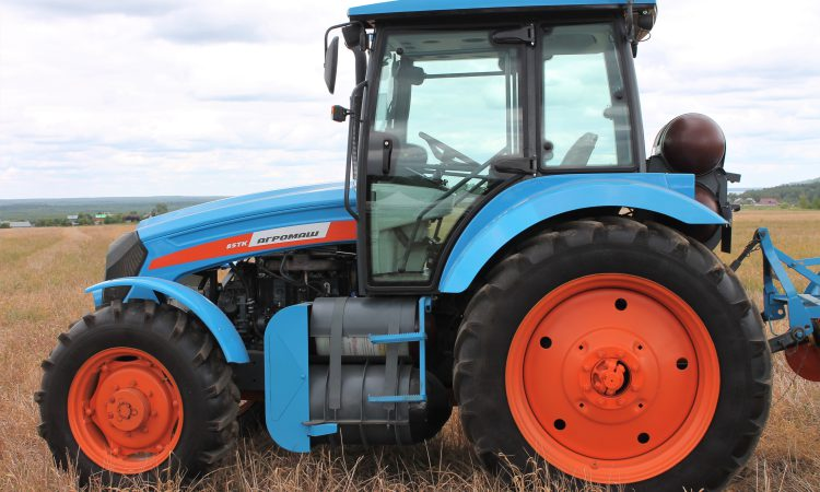 Video: Check out this farmer-sized, gas-powered tractor