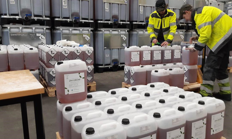 New fertiliser – made from used batteries – to hit the market