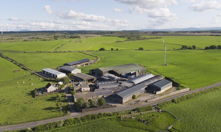 'Established' dairy farm includes 3 robotic milking machines on 523ac