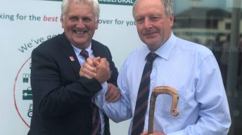 Pembrokeshire beef and sheep farmer honoured for services to agriculture