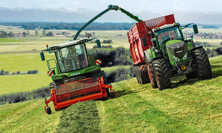 Hike in power for latest Fendt forage harvester