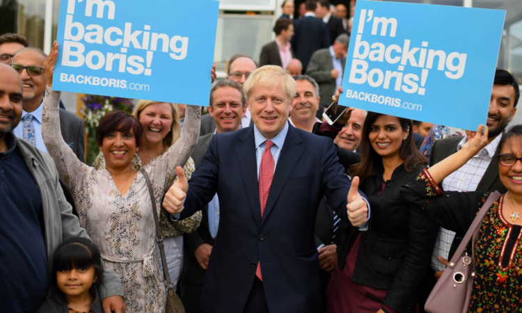 Johnson to become new UK prime minister after party leadership win