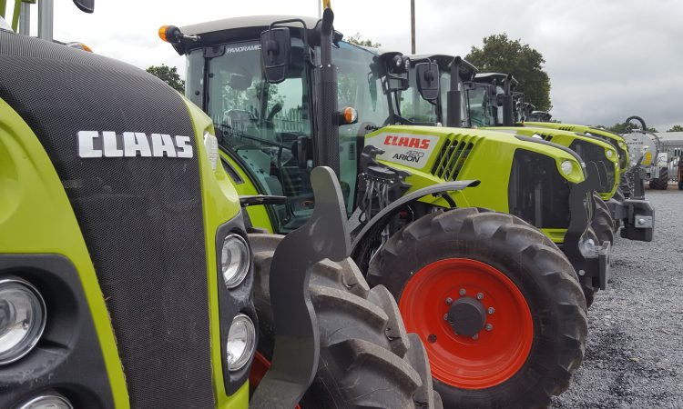 Over 7,000 new tractors sold in the UK so far in 2019