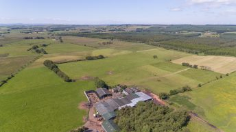 Accessible farm in central Scotland for sale whole on 271.22ac…or in 7 lots