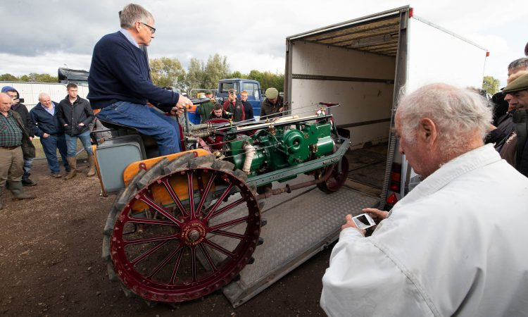 Auction report: £310,000(plus commission) paid for 'important' tractor