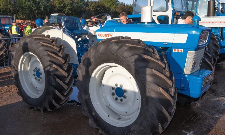 Auction report: Chunky price paid for a chunky-looking County